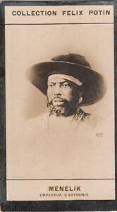 Menelik-II-Emperor-Abyssinie-Abissinia-Ethiopia-Ethiopie-IMAGE-CARD-1907