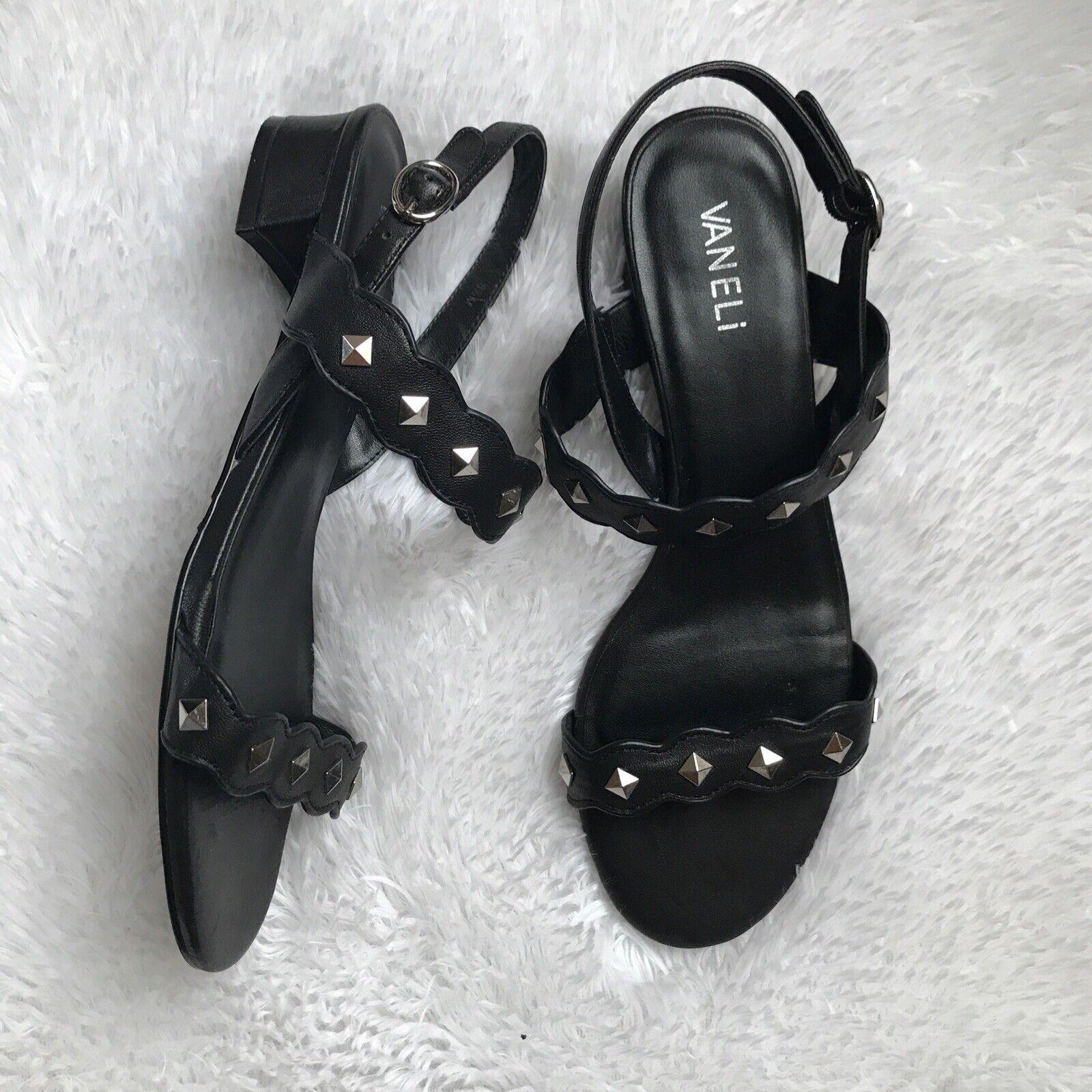 Vaneli Strappy  Studded  Sandals Size 8 - image 1