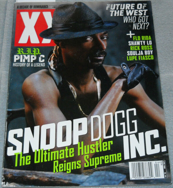XXL Magazine No 101 April 2008 Snoop Dogg Flo Rida Rick Ross Lupe Fiasco