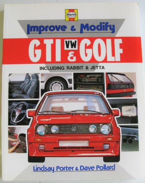 Improve & Modify VW GTI & Golf Including Rabbit & Jetta Porter Pollard Book