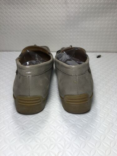 On pelle in Donna 7 Loafers Air Mephisto 5 Taupe Size Cool verniciata Slip q8X116