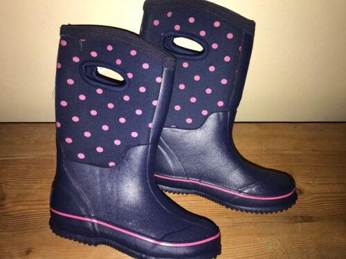 JOULES Girls Neoprene Wellies Welly Boots Wellies Sz 10 11 12 RP£39.95 FreeUKP/&P