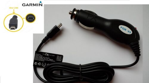 Cargador De Coche Cable De Alimentación Para Garmin Nuvi Sat Nav 2797lmt 2597LMT 2597lm 2577lt