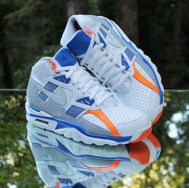 Húmedo dedo índice creciendo  Nike Air Trainer SC High Men's 9.5 White/cobalt Reverse Auburn Bo Jackson  Shoes for sale online | eBay