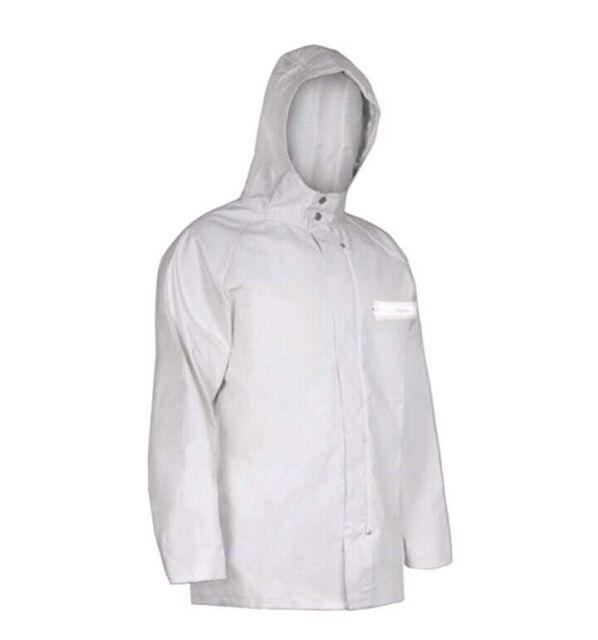 Pro Rainer Heavy Weight Commercial Rain Sparhawk Parka White 3XL 11440