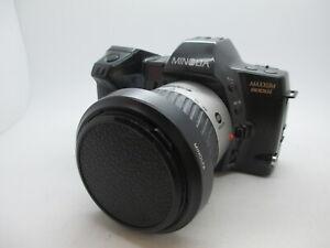 Minolta Maxxum 8000i 35mm SLR Film Camera  w/ AF Minolta A Zoom Lens  Tested!!!