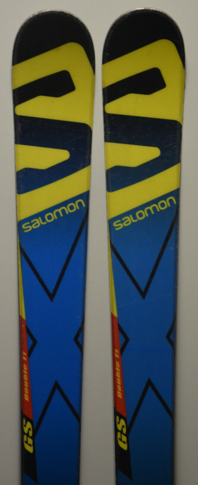 Esquís parabólico Junior SALOMON X Race GS junior + Fijaciones - 159cm   166cm