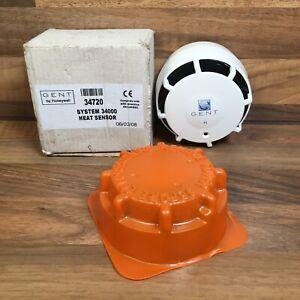 Gent System 34000 Heat Detector Sensor Analogue Addressable 34720 Fire Alarm
