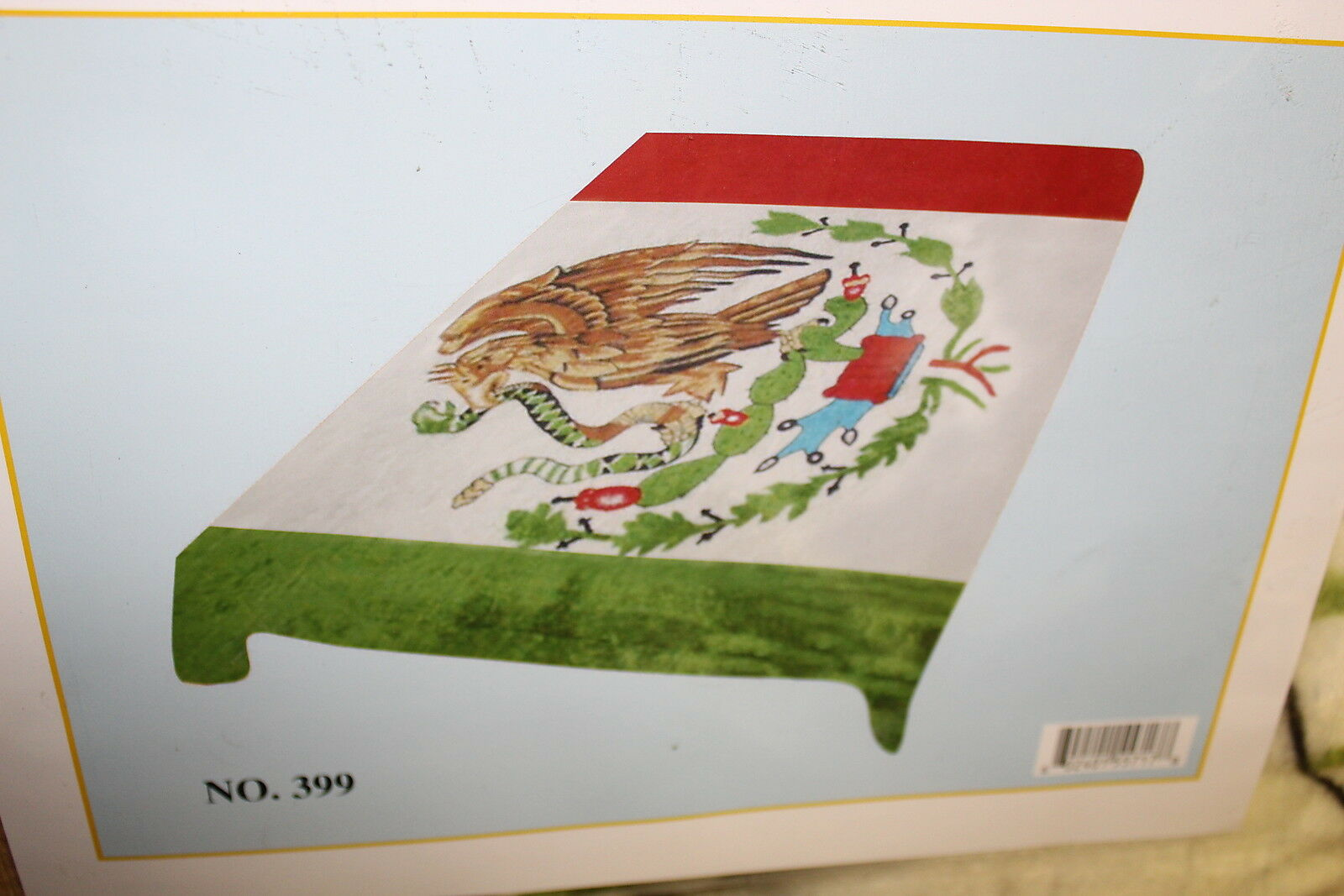 MEXICO MEXICAN FLAG QUEEN SIZE BLANKET