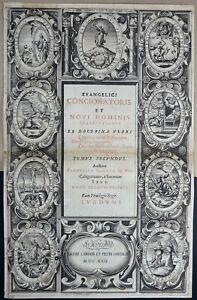LYON-CARDON-amp-CAVELLAT-1622-Titre-Frontispice-par-Claude-AUDRAN-In-Folio