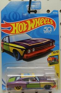 1969 69 chevelle ss 396 art purple yellow green 10 302 red chevy hw hot wheels ebay - 69 chevelle ss 396 images ...