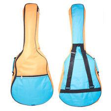 "3//4 7//8 Guitar Bag Case 39/"" 5mm Pad Kids Funky Back to School Girl Boy Green Red"