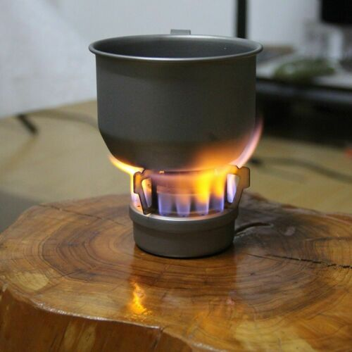 Outdoor Survival Camping Cooking Triangular Alcohol Fuel Burner Spirit Stove New