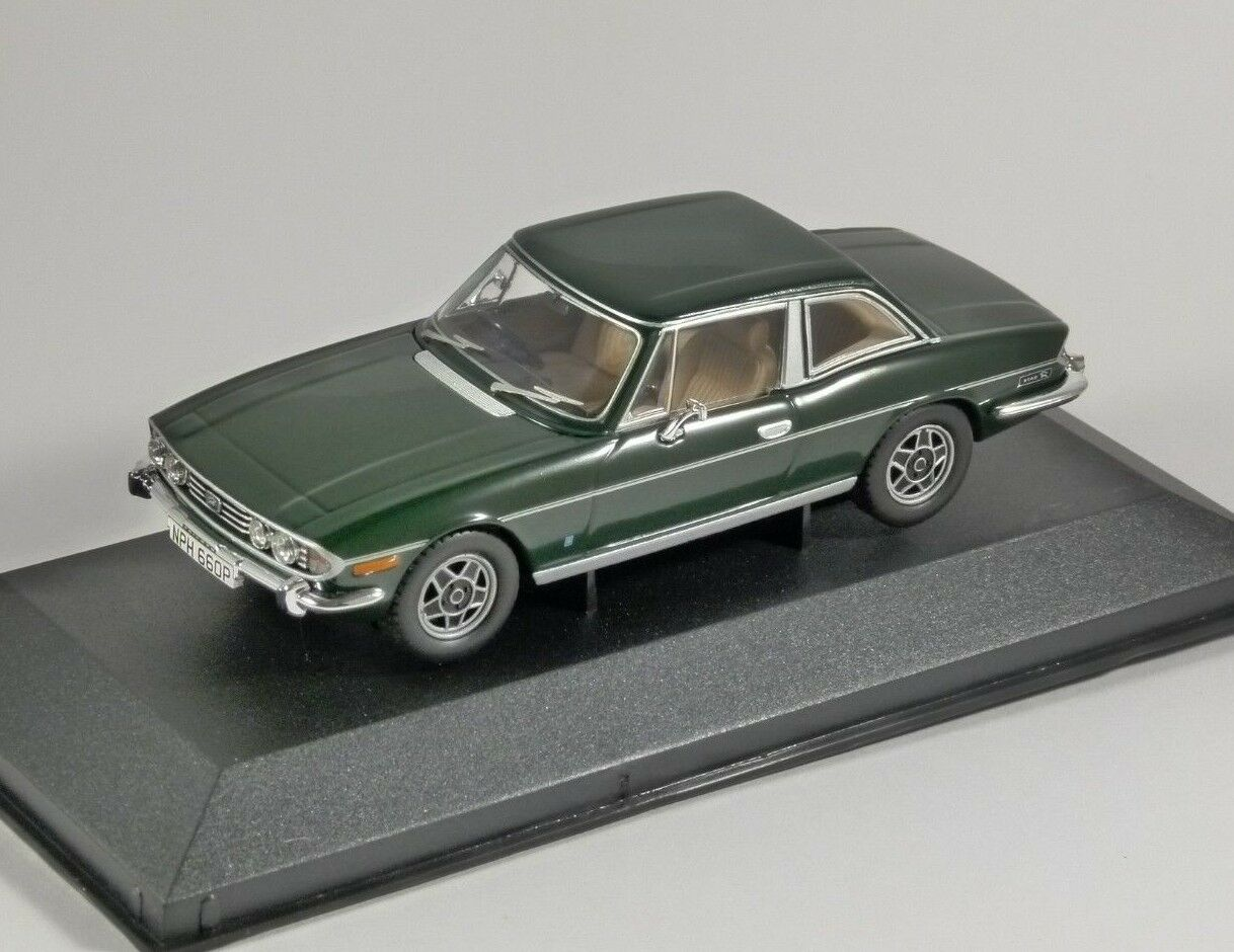 TRIUMPH STAG Mk2 in British Racing Green 1 43 scale model CORGI Vanguards