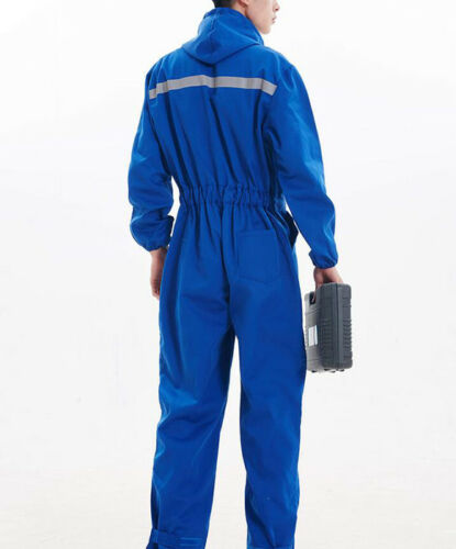 Men Womens Boilersuit Coverall Overall Workwear Tuff Work Royal Pant Jumpsuit