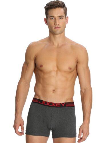 Mens JOCKEY Long Boxer Brief Zone Stretch Underwear Brief # US20 S M L XL 2 Pack