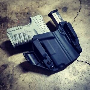 Springfield-XDS-9-40-45-3-3-034-Appendix-IWB-SideCar-Kydex-Concealed-Carry-Holster