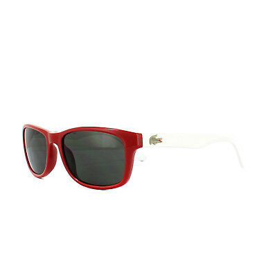 Entusiasta Lacoste Occhiali Da Sole Kids L3601s 615 Rosso Bianco Grigio