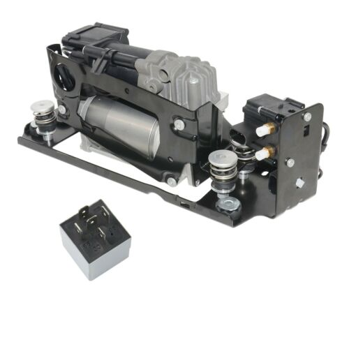 Luftpumpe+Luftfederventil+Halterung+Relais Für BMW 5er F07 F11 GT 37206789450