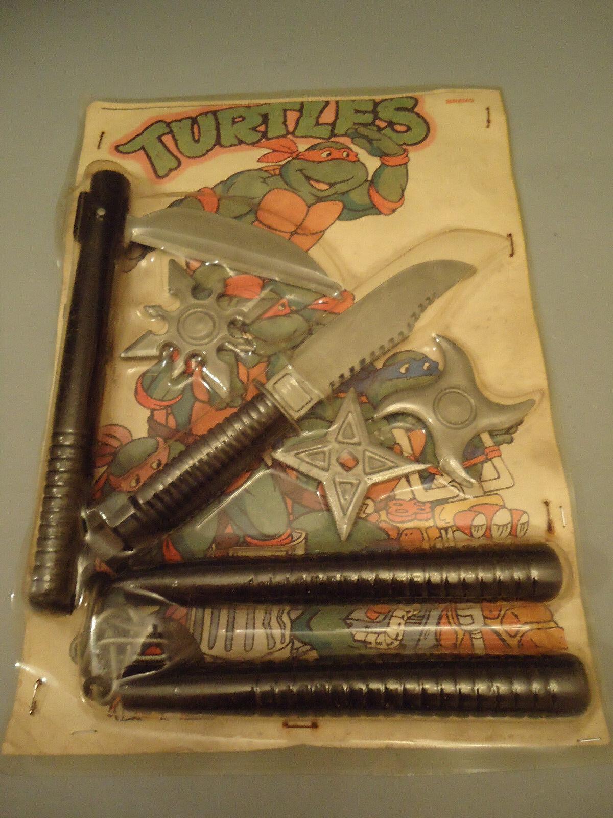 Vintage - selten tmnt ninja turtles spielen hat waffen spielzeug bravo rocco spielzeug
