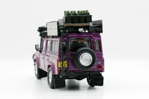 Master 1:64 Diecast Car Model For Display Details about  /NEW Purple Land Rover Defender 110