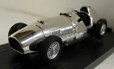 Brumm 1/43 Scale 100 Jahre 1886/1986 Chrome Ferrari 375 F1 51 diecast model car
