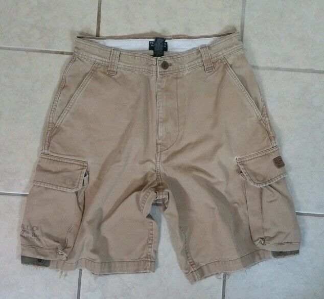 Polo Ralph Lauren Military Style Khaki Cargo Shorts 32