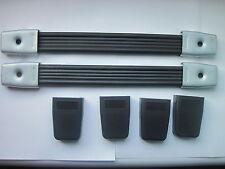 2 x Flight case or Speaker Cabinet Strap Handle with plastic caps ( Pair )