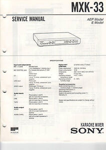 SONY-Service-Manual-MXK-33-B2104