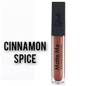 Sleek  Matte Me Lip Creams: CINNAMON SPICE