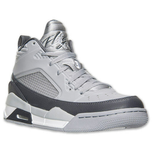 Men's Jordan Flight 9.5 Wolf Grey White Dark Grey Sz 8-12 New In Box 654262-006