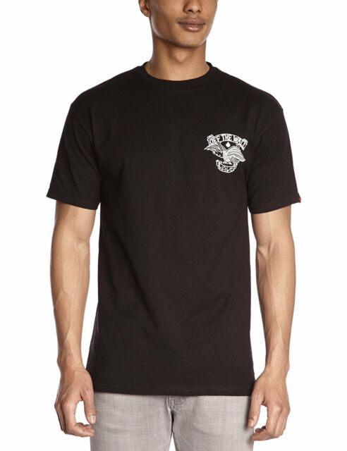 dd862df306 VANS Baldy Tee Black White Eagle Screenprint off The Wall Logo Men s T-shirt  M