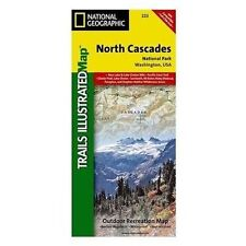 North Cascades National Park National Geographic Trails Illustrated Map