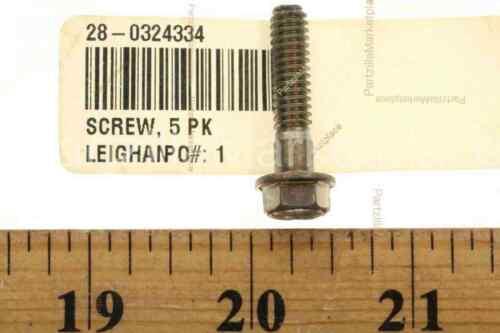 Evinrude 0324334 SCREW  5 PK