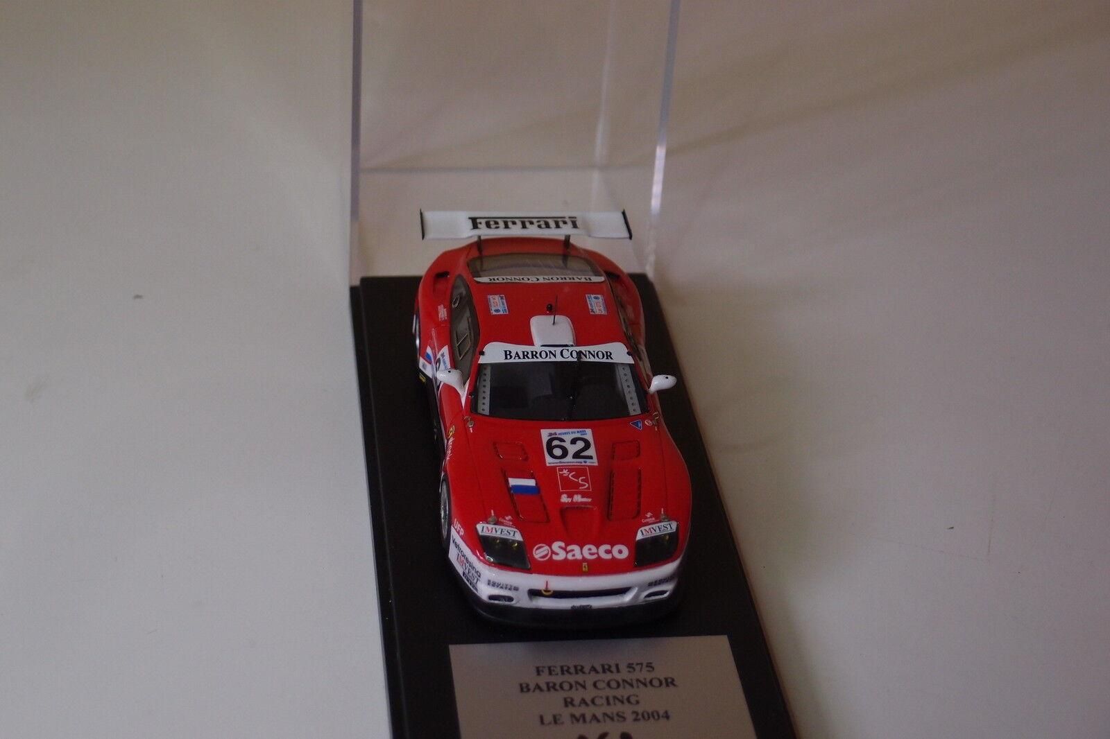 MISTRAL FERRARI 575 BARON CONNOR RACING LE MANS 2004 2004 2004 1 43 0acde0