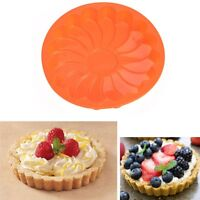 Silicone Kitchen Round Bread Chocolate Cake Pizza Mold Baking Pan New