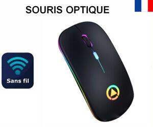 Souris Sans Fil Optique Wireless Mouse avec USB pour PC Ordinateur Portable