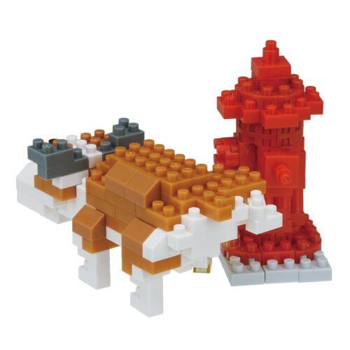 NEW NANOBLOCK MARKING DOG 190 Pieces Building Blocks Nanoblocks Nano NBC-269