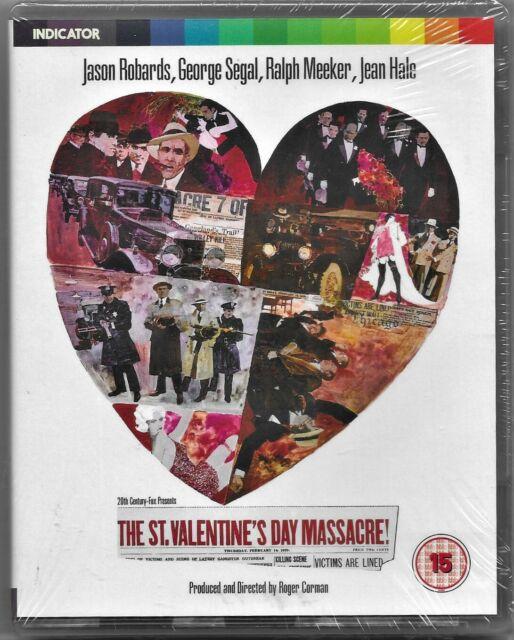 The St Valentine's Day Massacre Blu Ray Ltd Ed. Region B Free Post