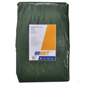 Tarpaulin olive green 3 x 2m