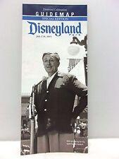 Disneyland Park Diamond Celebration Guide Map Special Edition 60th Anniversary
