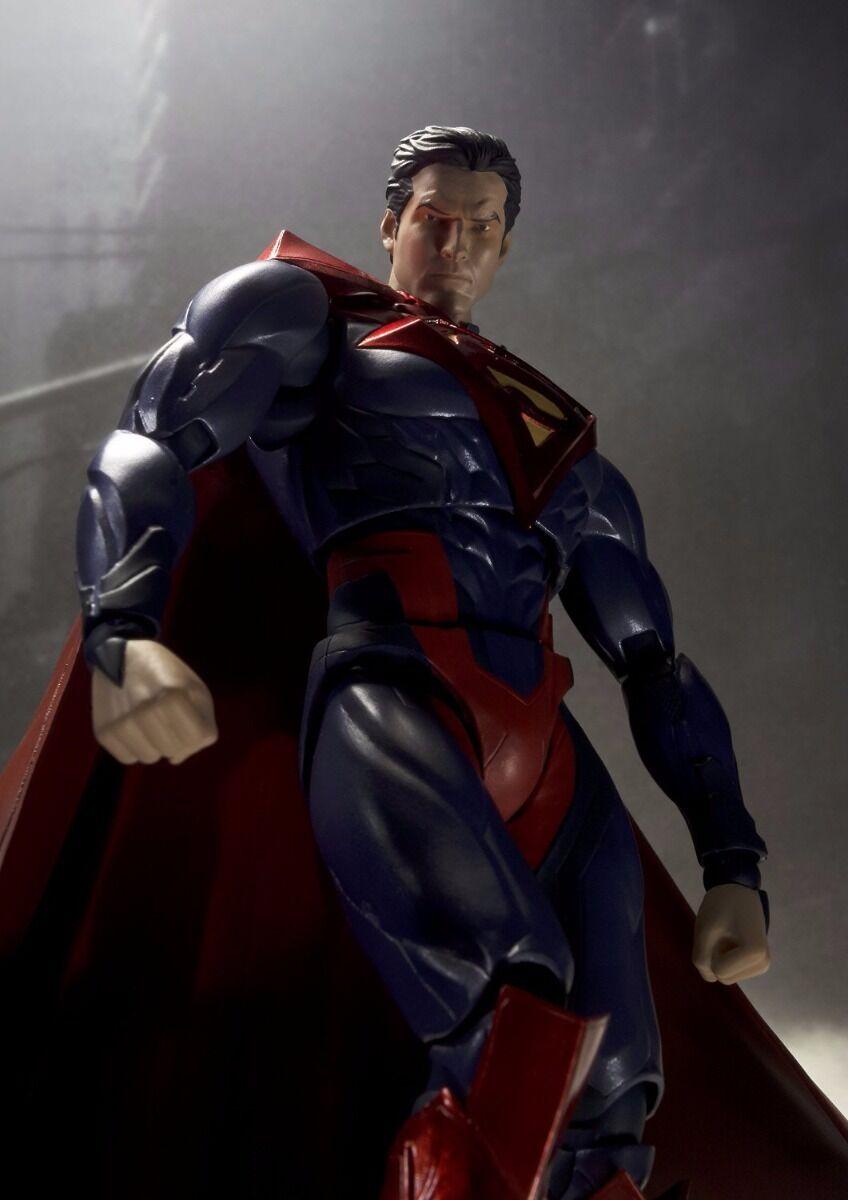 S.H.Figuarts SUPERMAN INJUSTICE Ver Action Figure Figure Figure BANDAI from Japan 86a3e4