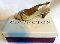 Covington Flossie Heels Women Open Toe Slingback Size 7.5 M L281