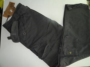 Mens-Charcoal-Gray-Cargo-Pants-NEW-38-034-W-30-034-Inseam