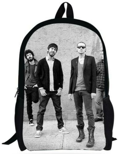 The Hunter Linkin Park 3D Print Notebook Bag Girls Boys Travel School Bagpack 19