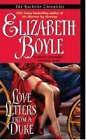 Love Letters From a Duke by Elizabeth Boyle (Paperback, 2007)