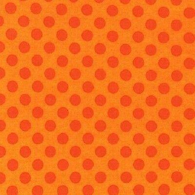 "FQ Robert Kaufman Spot On Flame 18""x22"" 100% Cotton Fabric"