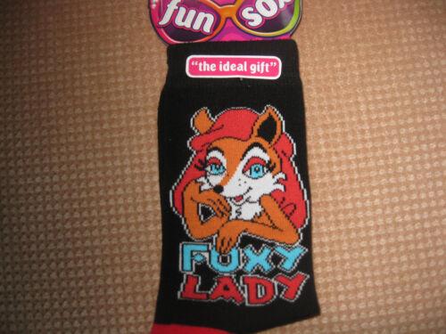 LadiesJoke//Novelty Socks,6 Designs Size 4-8
