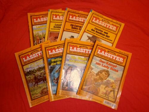 Garagenfund 15  Lassiter Romane Erstauflagen