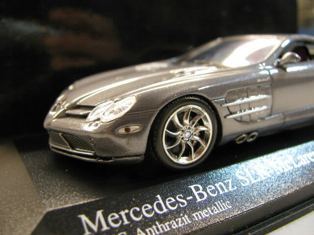 1 43 Minichamps Mercedes Benz sola Lente Reflex Reflex Reflex Diecast McLaren (2003) 442771
